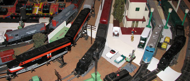 The Gilbert Gallery: American Flyer S-Scale Model Trains